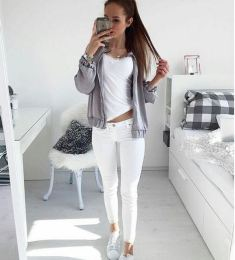 White Jeans Instagram: Stylefreakclothing