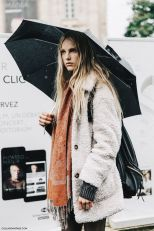 Very interesting article here; http://www.whowhatwear.co.uk/how-to-dress-for-the-rain-look-good-stylish-fall-fashion-2013/slide1