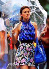 Blair always looks good, no matter the weather!! <3